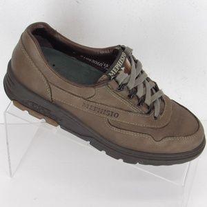 MEPHISTO Runoff Walking Shoe 7 Brown #121